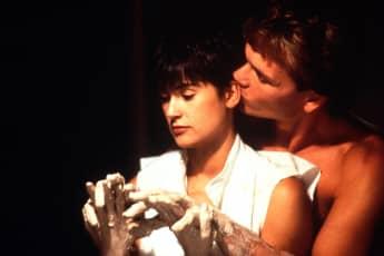 "Demi Moore und Patrick Swayze in ""Ghost"""