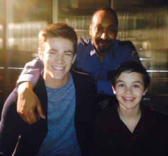 """Die """"The Flash""""-Stars Grant Gustin, Jesse L. Martin und Logan Williams auf Instagram 2020"""