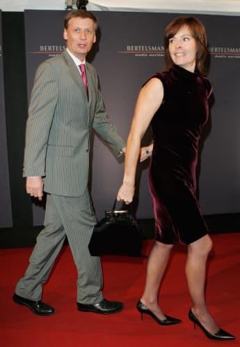 Günther Jauch und seine Frau Thea