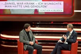 """Günther Küblböck und Günther Jauch bei """"2018! Menschen, Bilder, Emotionen"""""""