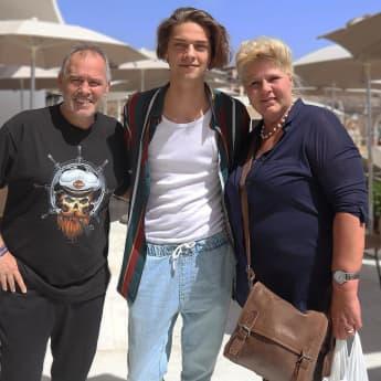 Harald Elsenbast, Tim Rasch und Silvia Wollny auf Teneriffa