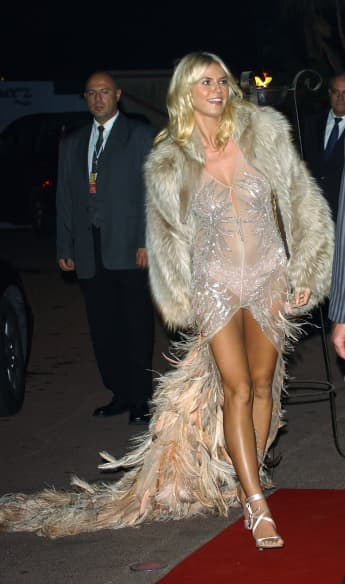 Heidi Klum im Jahr 2003