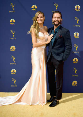 Heidi Klum und Tom Kaulitz bei den Emmys 2018