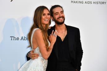 Heidi Klum und Tom Kaulitz bei ihrem ersten gemeinsamen öffentlichen Auftritt in Cannes