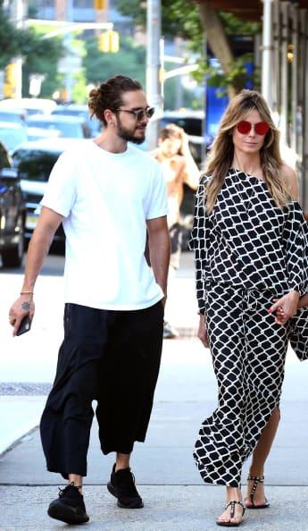 Tom Kaulitz und Heidi Klum in New York