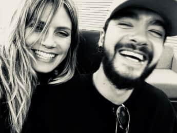 Hedi Klum und Tom Kaulitz bei Instagram 2019