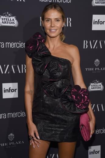 Model Heidi Klum 2016 ungeschminkt auf dem Red Carpet