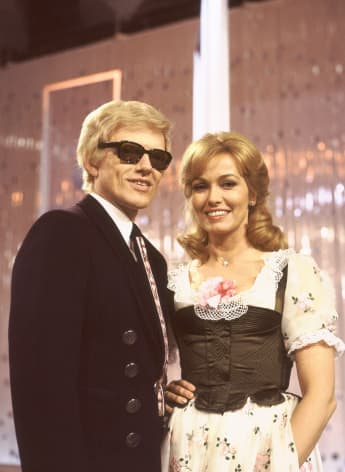 Heino und seine Hannelore im Jahr 1977