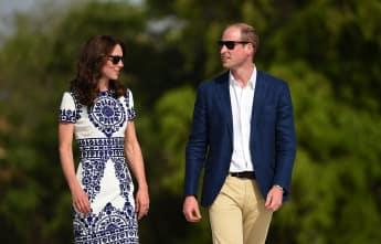 Herzogin Catherine und Prinz William besuchten 2016 das Taj Mahal