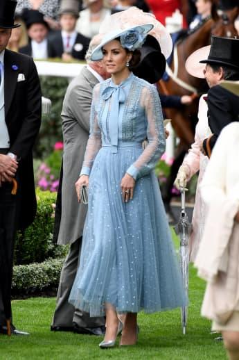 Herzogin Kate in Ascot