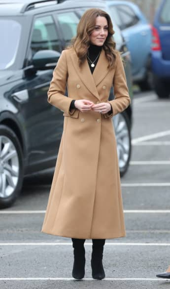 Herzogin Kate im Januar 2020