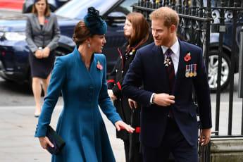 Prinz Harry Herzogin Kate Gottesdienst