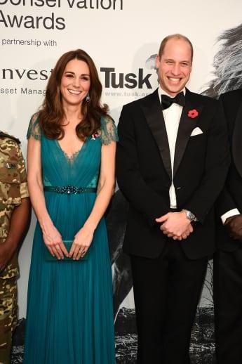 Herzogin Kate Prinz William Tusk Conservation Awards