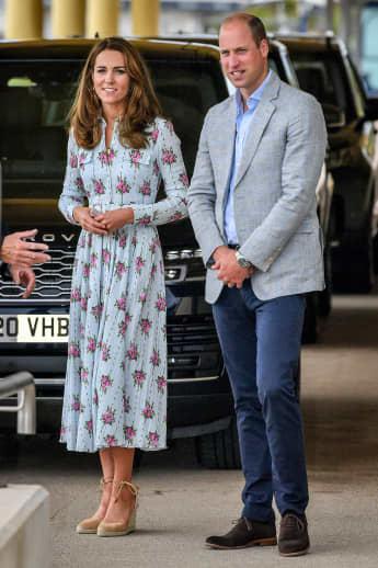 Herzogin Kate und Prinz William im August 2020