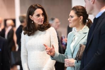 Herzogin Kate Prinzessin Victoria schwanger