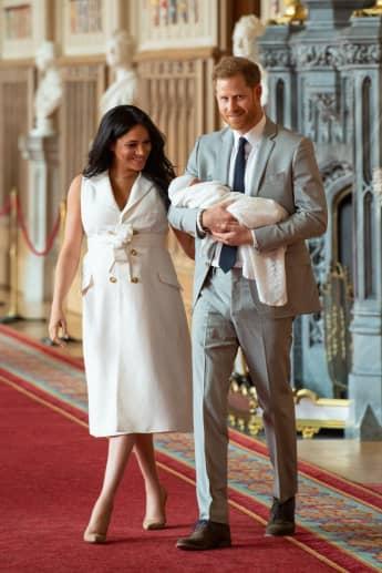 Prinz Harry Herzogin Meghan Baby Sussex Fotos Bilder