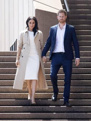 Herzogin Meghan Prinz Harry Australien