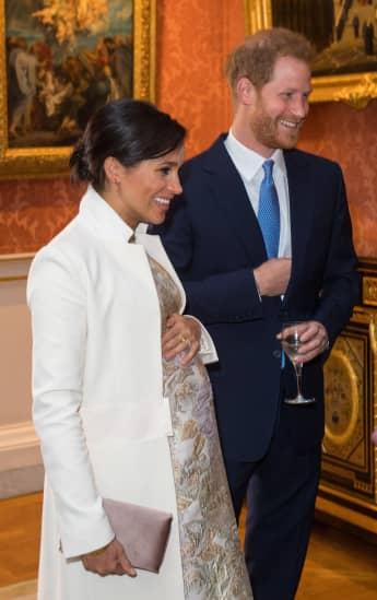 Herzogin Meghan und Prinz Harry bekommen schon bald ihr erstes Baby