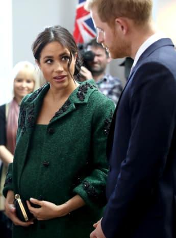 Herzogin Meghan Prinz Harry Baby Sussex Junge Royal