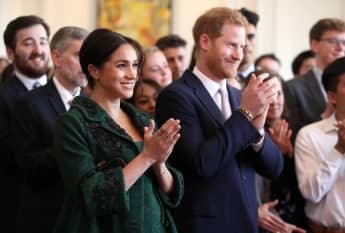 Herzogin Meghan und Prinz Harry schicken ihrem Neffen Prinz Louis einen süßen Geburtstagsgruß