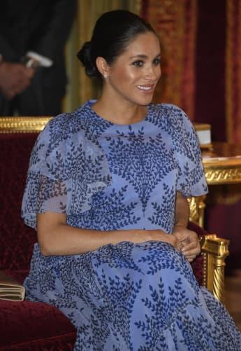 Herzogin Meghan in ihrem wunderschönen Outfit in Marokko