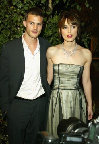 Jamie Dornan und Keira Knightley im Jahr 2004