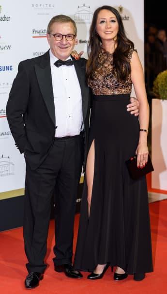 Jan Hofer und Phong Lan Hofer sind verheiratet geheiratet