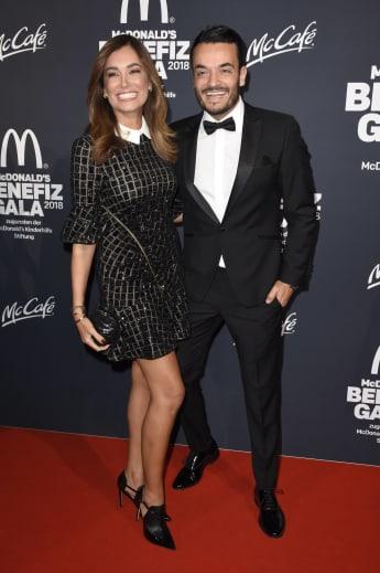 Jana Ina Zarrella Giovanni Zarrella McDonald's Spendengala