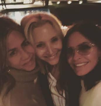 Jennifer Aniston, Lisa Kudrow und Courteney Cox