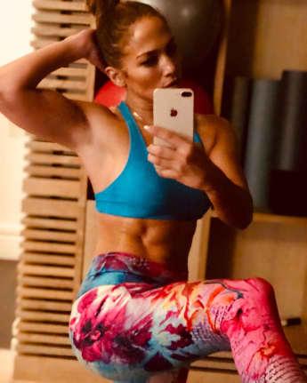 Jennifer Lopez Muskeln durchtrainiert