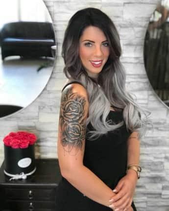 Jenny Frankhauser Tattoo