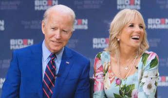 Jill Biden ist die Frau an Joe Bidens Seite und zukünftige First Lady der USA