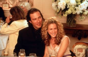 """Sex and the City"": John Corbett und Sarah Jessica Parker alias ""Aiden"" und ""Carrie"" in Staffel drei"