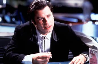 "John Travolta in ""Pulp Fiction"""