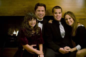 Ella Travolta, John Travolta, Kelly Preston und Jett Travolta