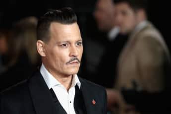 """Johnny Depp auf der Premiere seines Films """"Mord im Orient-Express"""""""