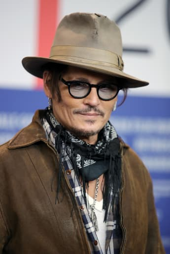 Johnny Depp beim 70sten Berlinale International Film Festival