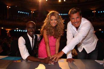 """""""Supertalent""""-Jury im Jahr 2008"""