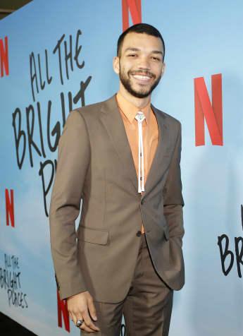 """Justice Smith bei der Netflix-Premiere von """"All the Bright Places"""""""