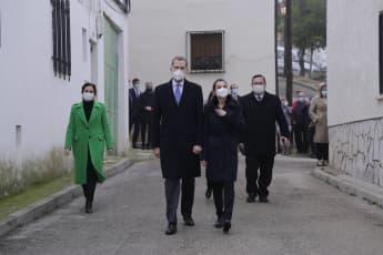 König Felipe und Königin Letizia von Spanien in Madrid im Dezember 2020