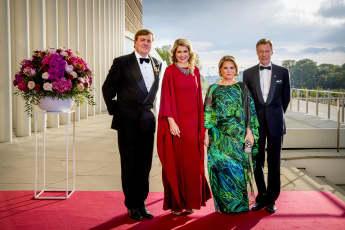 König Willem-Alexander Königin Maxima Maria Teresa von Luxemburg und Großherzog Henri