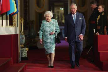 Königin Elisabeth II. Prinz Charles