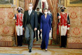 König Felipe VI. Königin Letizia Neujahrsempfang Diplomatischer Korps