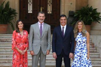 Königin Letizia König Felipe Spanien Präsident