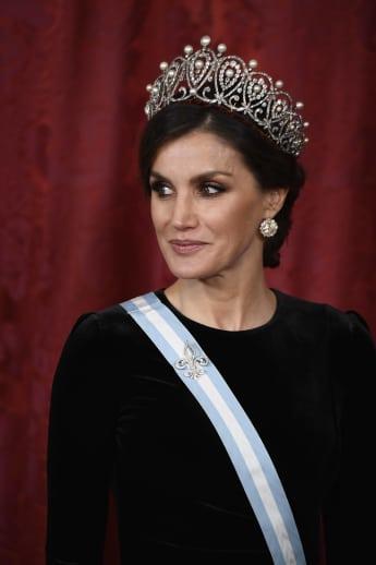 Königin Letizia Tiara