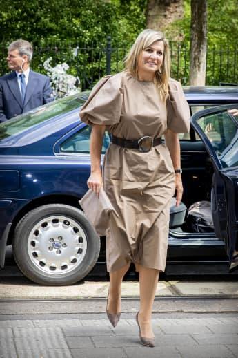 Königin Máxima bei ihrem Besuch des Amsterdamer Krankenhauses Onze Lieve Vrouwe Gasthuis
