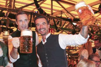 Kai Pflaume Florian Silbereisen Oktoberfest