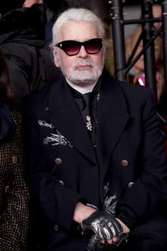 Karl Lagerfeld Chanel krank