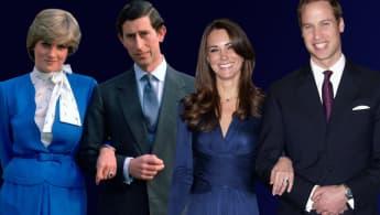 Herzogin Kate hat ihren Verlobungsring von Lady Diana geerbt