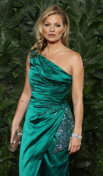 Kate Moss bei den britischen Fashion-Awards im Dezember 2018